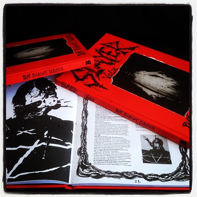"SLAYER MAG Vol. X: Red Hardcover Reissue, by Jon ""Metalion"" Kristiansen"
