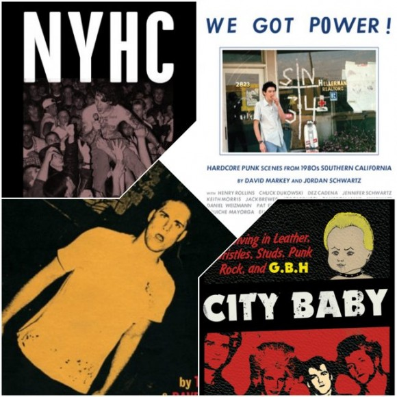 THE 'CORE COLLECTION: Touch and Go/We Got Power!/NYHC/City Baby Book Set