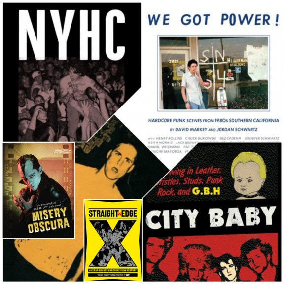 THE 'CORE CURRICULUM: Touch and Go, We Got Power!, NYHC, City Baby, Misery Obscura, Straight Edge Book Set
