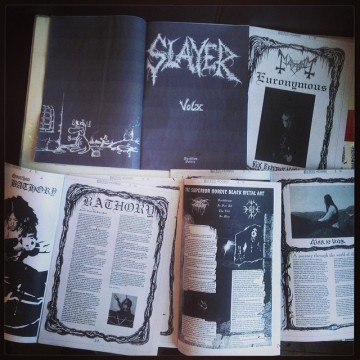 "SLAYER MAG Vol. X: Red Hardcover Reissue, by Jon ""Metalion"" Kristiansen"