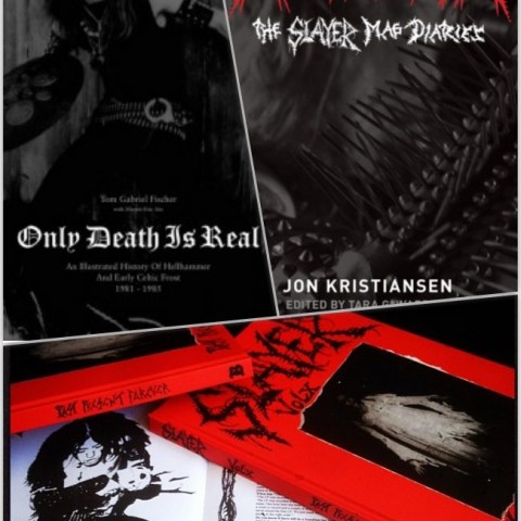 THE RED AND BLACK BOX: Metalion, Only Death Is Real, and Slayer Mag Vol. X Collection
