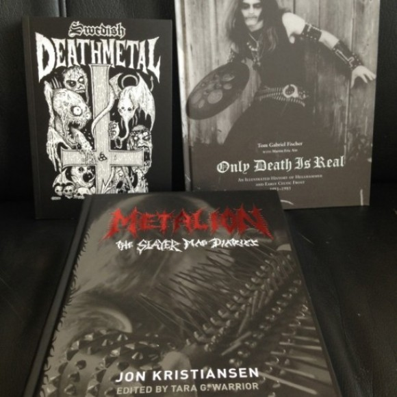 THE BOX OF BLACK BOOKS: Metalion, Only Death Is Real, and Swedish Death Metal Hardcover Set