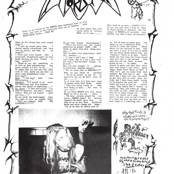 """METALION: The Slayer Mag Diaries, by Jon """"Metalion"""" Kristiansen"""