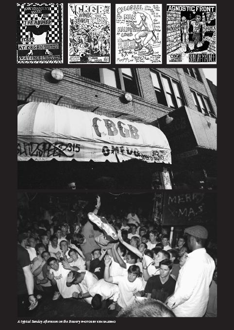NYHC: New York Hardcore 1980–1990, by Tony Rettman