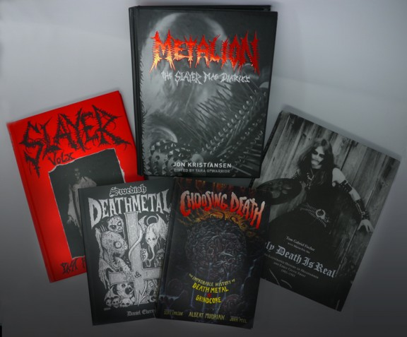THE BIG BOX OF BLACK BOOKS: Metalion, Only Death Is Real, Swedish Death Metal, Choosing Death Book Set