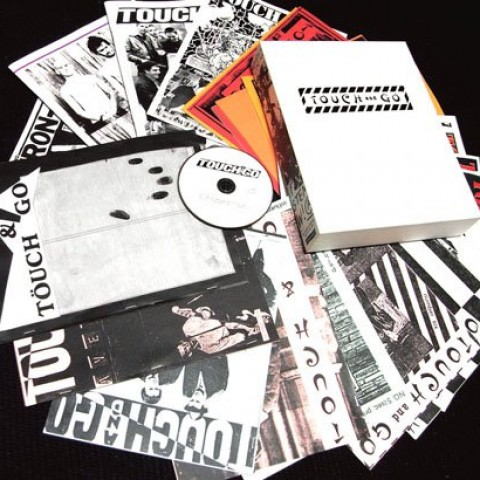 TOUCH AND GO: The Complete Hardcore Punk Fanzines Replica Box Set