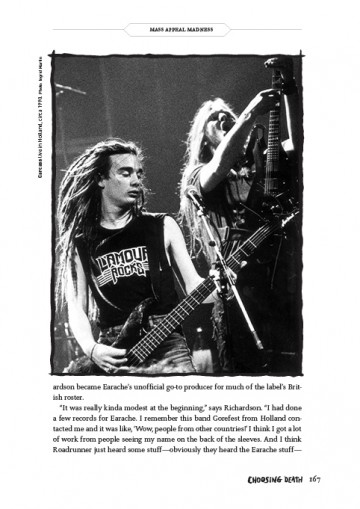 CHOOSING DEATH: The Improbable History of Death Metal & Grindcore, by Albert Mudrian