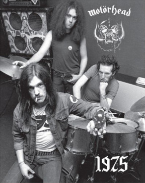 MOTÖRHEAD 1975: Photographs by Roger Morton