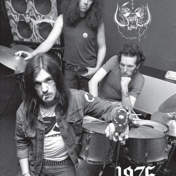 MOTÖRHEAD 1975: Photographs by Roger Morton