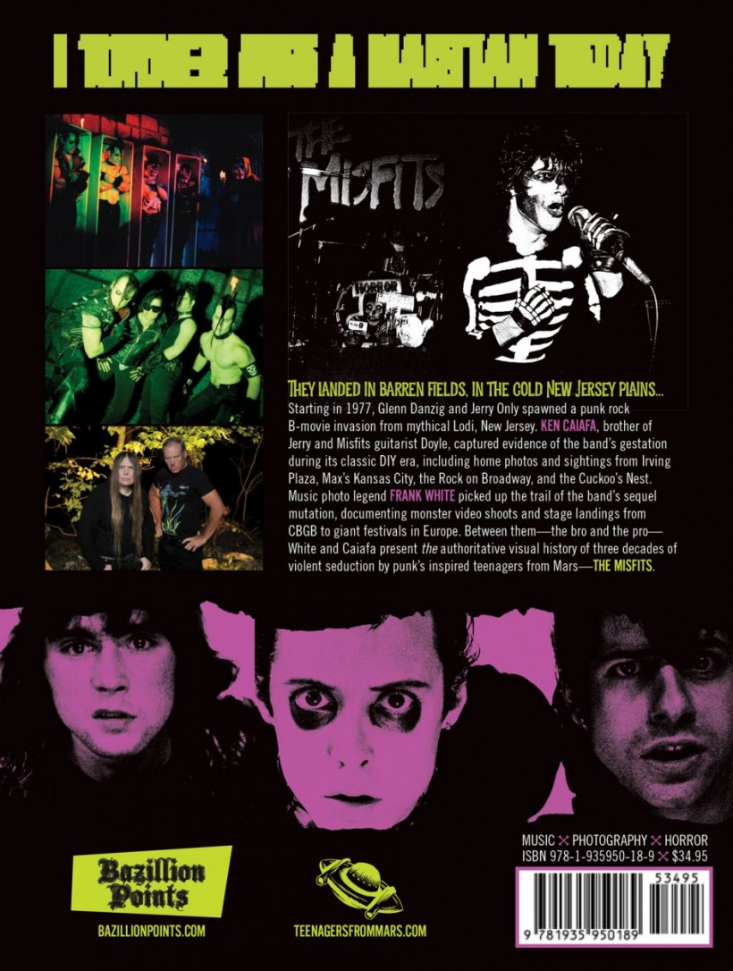 Pre-Order TEENAGERS FROM MARS: The Misfits Among Us, 1978-2006, by Frank White & Ken Caiafa