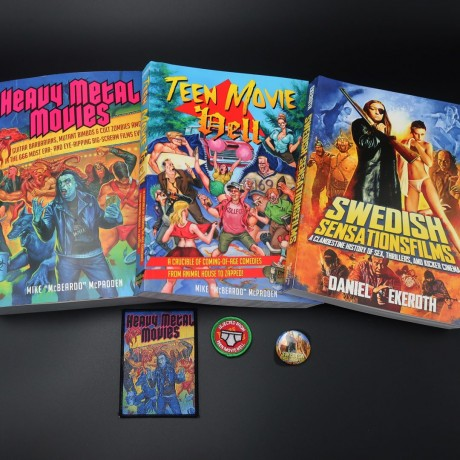 THE SILVER SCREEN SHOCK BOX: Heavy Metal Movies, Teen Movie Hell, Swedish Sensationsfilms Book Set