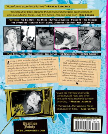 TEXAS IS THE REASON: The Mavericks of Lone Star Punk, by Pat Blashill